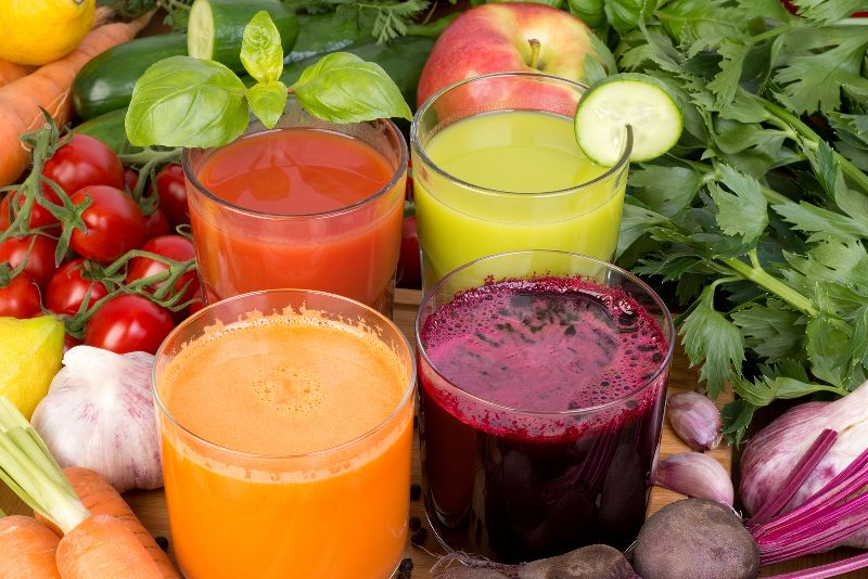 The Greens that Power my Detox Juice Recipes
