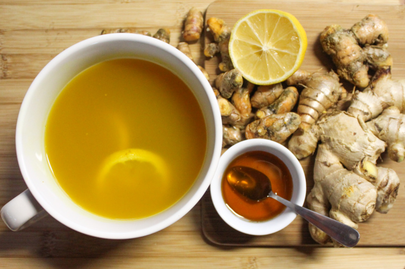 Ginger and Turmeric Tea – Cleansing Agent (Recipe) | Top Natural ...