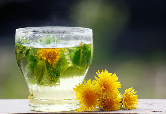 3 - Dandelion tea