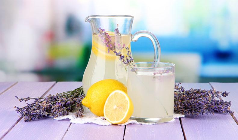 natural lavender lemonade for insomnia and depression