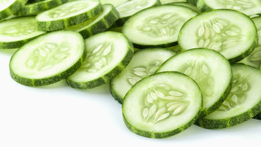 cucumber for sun burns