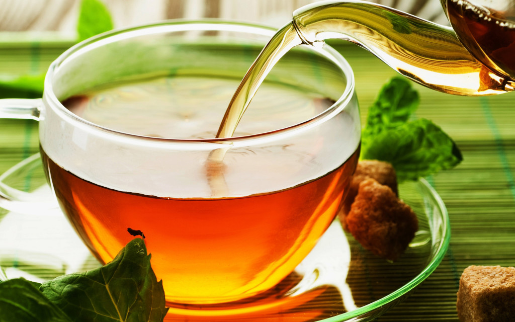 drink tea daily